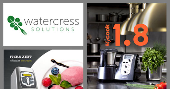 After recently completing a new website and business stationery for Watercress Solutions, they asked us to design 1m+ exhibition graphics to showcase three of their major products. We were asked for BIG, BOLD and COLOURFUL!